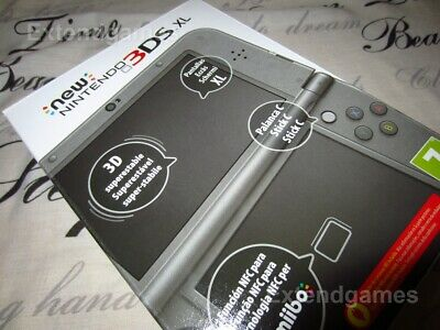 New Nintendo 3DS XL Handheld Console Game System MetalIic BK BRAND NEW...