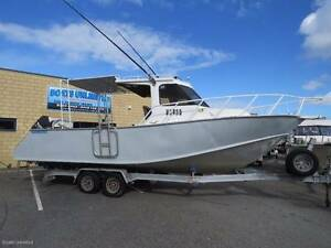 JACKMAN 8.0M HARD TOP PLATE ALLOY FISHING BOAT Wangara Wanneroo Area Preview