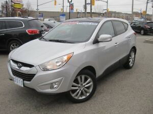 2010 HYUNDAI TUCSON GLS | AWD • Leather • 2 Roofs • Bluetooth