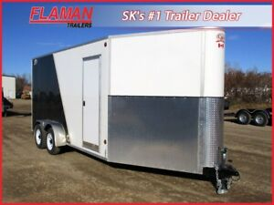 CJay 7'x20' Enclosed Trailer - Used - Upgraded Flooring!