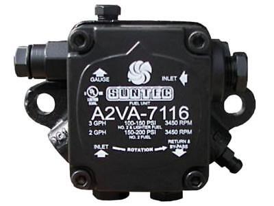 Suntec A2VA-7116 Single Stage Oil Pump 3 GPH @ 100 PSi  A2VA