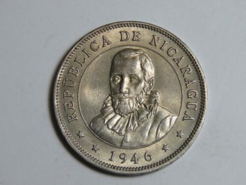 1946 Nicaragua 50 Centavos