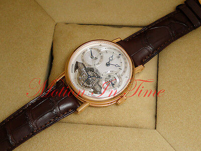 Breguet Classique Tourbillon 41mm Rose Gold Perpetual Calendar 3797BR/1E/9WU