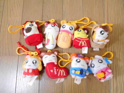 2003 Tottoko Hamtaro Plush Key chain McDonald