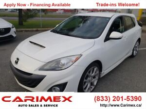 2011 Mazda MazdaSpeed3 CERTIFIED