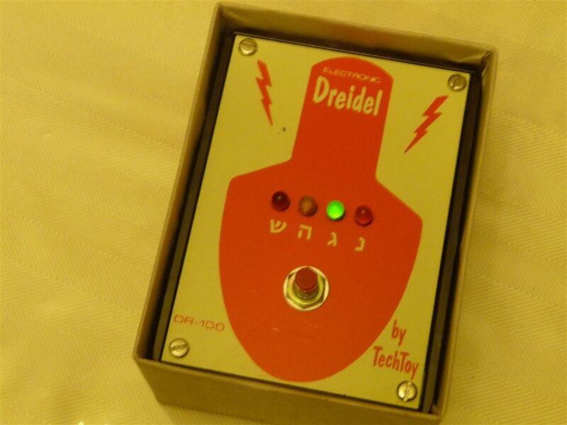 Electronic Chanukah Dreidel