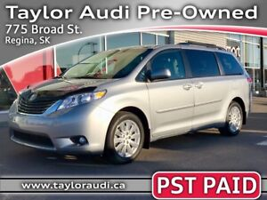 2014 Toyota Sienna XLE 7 Passenger LOCAL TRADE, PST PAID, 3M...