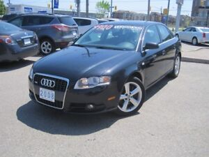 2008 AUDI A4 S-LINE | 6 Speed • AWD • 3.2V6 • Roof