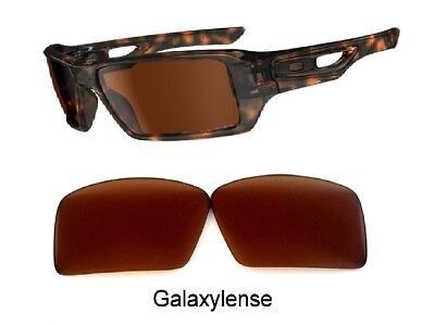 Galaxy Prizm Replacement Lenses For Oakley Eyepatch 1&2 Brown Color for sale  Shipping to Canada