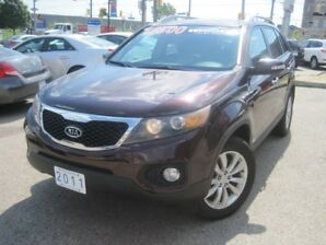 2011 KIA SORENTO EX | AWD • Leather • NAV • 2Roofs • Infinity Stereo • Rear Camera
