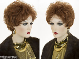 Feather-Light-Construction-Layered-Short-Blonde-Brunette-Red-Wavy-Curly-Wigs