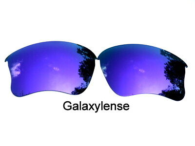 Galaxy Replacement Lens For Oakley Half Jacket XLJ Sunglasses Purple Polarized (Oakley Sunglasses Purple Lens)