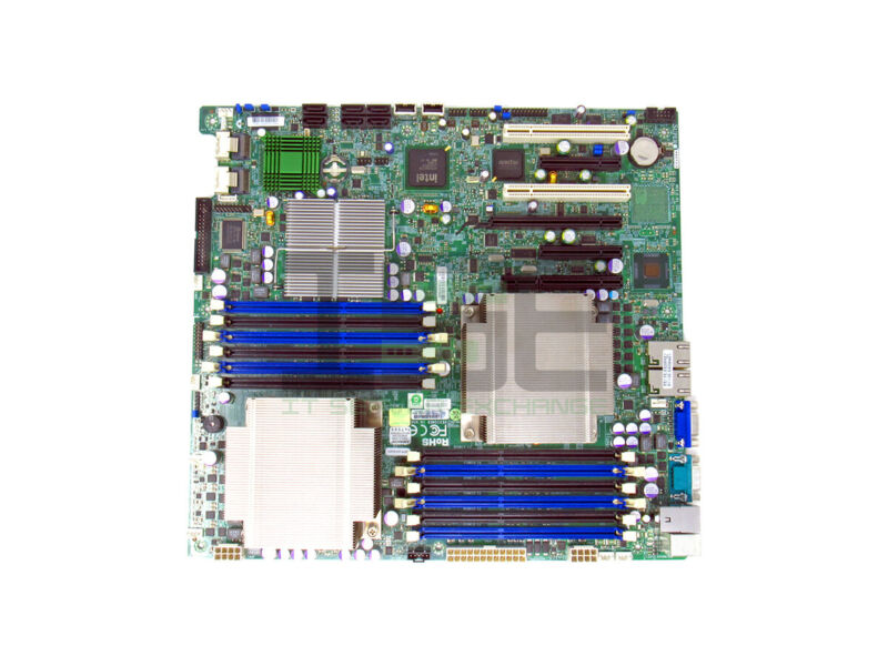 Supermicro X8DT3-F 2x E5620 Dual Heatsink LGA1366 Motherboard w/ I/O Shield