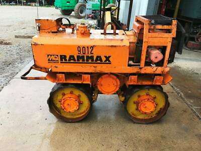 Rammax P3324 Trench Roller Diesel Padfoot Ditch Vibratory Remote Control