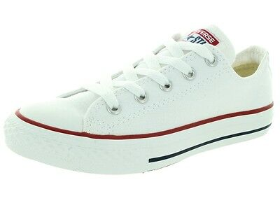 CONVERSE Kids All Star Chuck Taylor White Athletic Casual Shoes Youth 3J256 New (Kids Chuck Taylor)