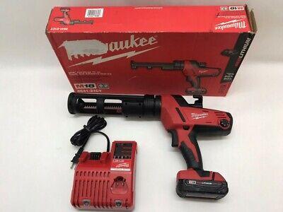 Milwaukee 2641-21ct M18 18v 10-ounce Caulk And Adhesive Gun Kit W R He2032593
