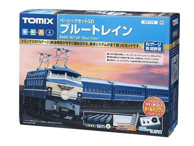 Tomix 90179 EF66 & Blue Trains N Scale SD Starter Set (N scale) Sd-starter