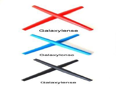 Galaxy Ear Socks For Oakley C Wire 2011,Half Wire 2.0,Whisker Black/Blue/Red for sale  Orlando