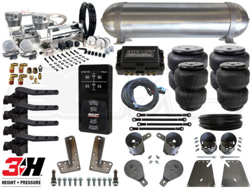 Complete Air Ride Suspension Kit - 1958-1964 Chevy Impala W/ Air Lift 3h - Bcfab