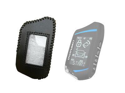 Leather Case for Compustar RFX-2WT9-FM remote Compustar T9 2 Way Remote key fob