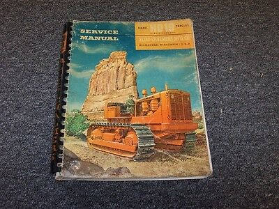 Allis Chalmers Hd19 Bulldozer Dozer Crawler Tractor Shop Service Repair Manual