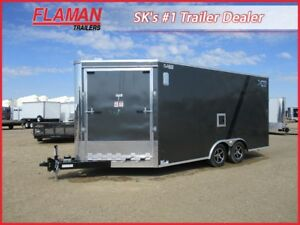 Royal XR 20' Enclosed Snowmobile Trailer - Preseason Sale!