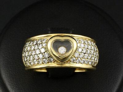 Chopard Brillant Herz Ring ca. 1,00ct mit großer Ringweite 59