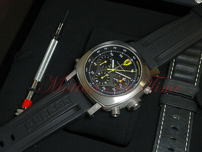 Ferrari By Officine Panerai Scuderia Rattrapante Stainless Steel 45m FER00010