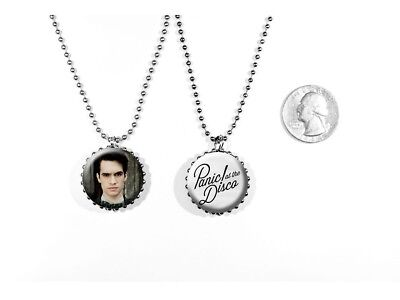 Panic! At The Disco Brendon Urie Rock Band This is Gospel 2 Sided Necklace