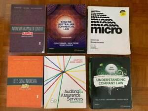 UWA Textbooks (Law, Commerce, & Bahasa Indonesia)