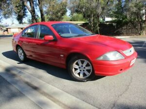 2002 Ford Falcon AUIII SR 4 Speed Automatic Sedan Alberton Port Adelaide Area Preview
