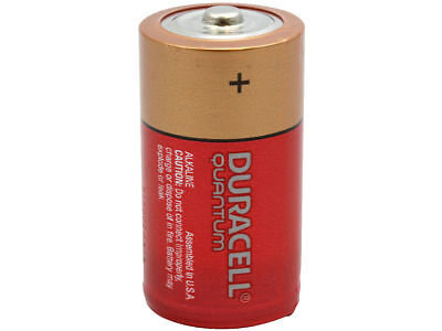 NEW DURACELL QUANTUM C ALKALINE BATTERIES TWELVE (12) PER BOX for sale  Shipping to India