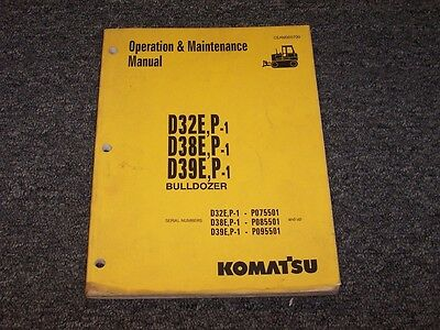 Komatsu Dozer Owner S Guide To Business And Industrial