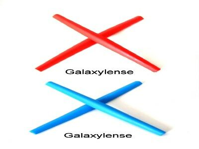 Galaxy Ear Socks For Oakley C Wire New 2011,Half Wire 2.0,Whisker Blue/Red for sale  Orlando