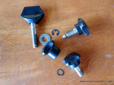 Hobart 1612-1712 Stainless Steel Meat Slicer Four Knob Repair Kit