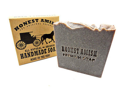 Patchouli and Bark Bath and Body Soap Bar- by Honest Amish