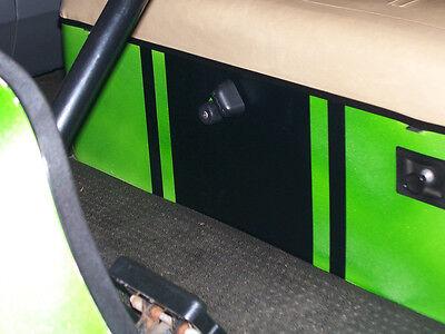 All Make Golf Cart EZGO Club Car HOOD UNDER SEAT Stripe Stripes Decals Graphics
