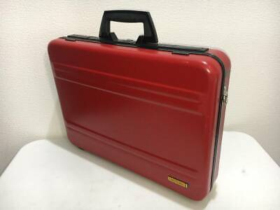 Vintage 1980's Zero Halliburton Ferrari Attache Case Daytona Red World Only 200