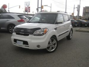 2011 KIA SOUL 4U | Leather • Sunroof • Fuel Saver!