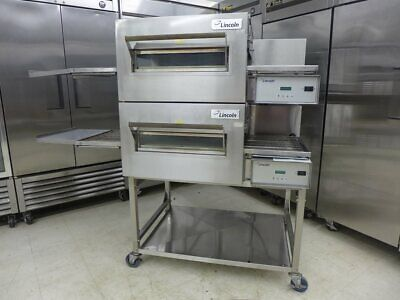 2016 Lincoln 1132 Double Electric Conveyor Pizza Sandwich Fry Convection Oven