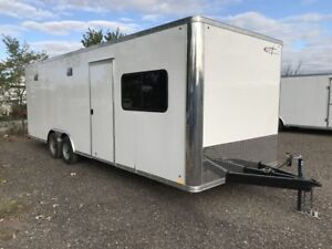 2018 Cross Trailers 824 Office trailer Enclosed Cargo