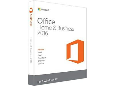 Office Home & Business 2016 Vollversion Outlook, Excel, Word, Powerpoint