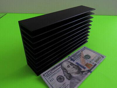 1 Medium Aluminum Black Anodized Heat Sink Extrusion 7.25 X 4 X 1-34