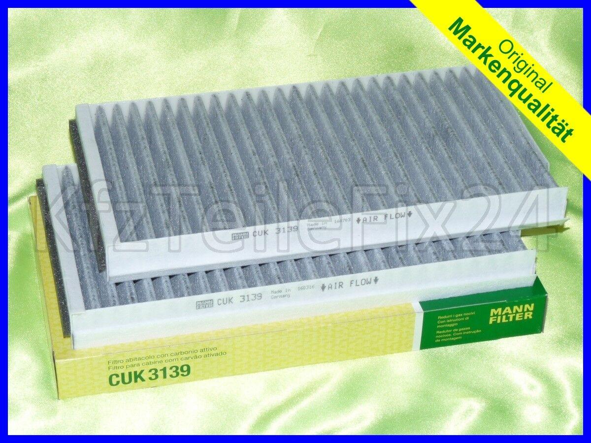 BMW 5er E39 Mikrofilter Innenraum-Luftfilter mit Aktivkohle 520 523 525 528 530