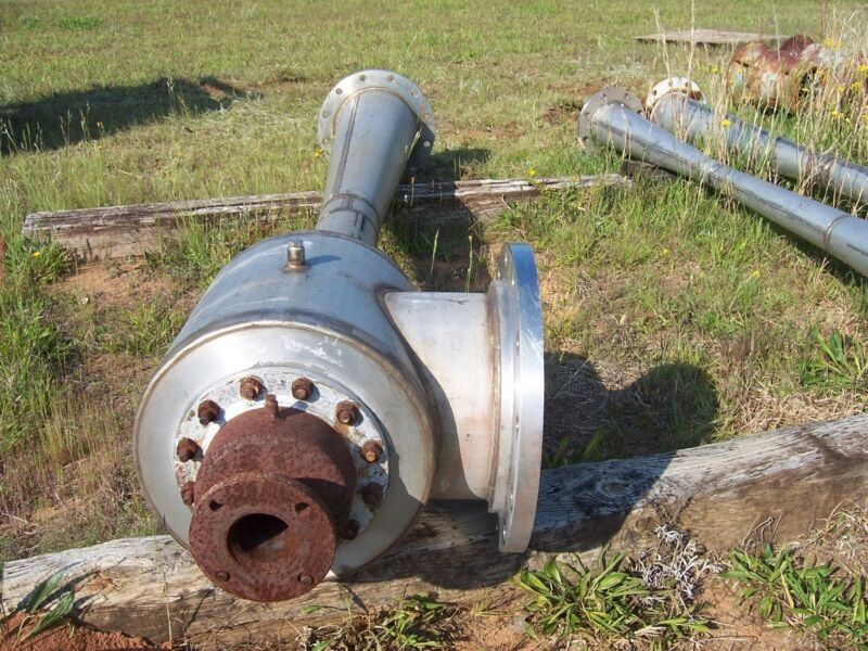 USED GRAHAM STEAM JET EJECTOR, RATED 150 PSI.