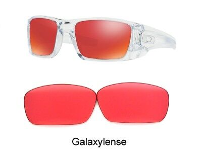 Galaxy Replacement Lenses For Oakley Fuel Cell Sunglasses Prizm Ruby Golf (Oakley Sunglasses For Golf)