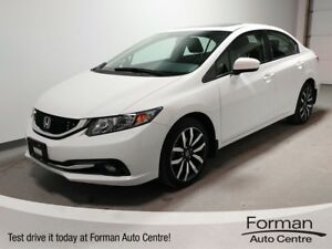 2015 Honda Civic Touring - One Owner   No Accidents   Loaded!