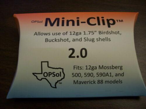 GENUINE OpSol Mini Clip Mini Shell Adapter 2.0 compatible w 12 ga Mossberg NEW