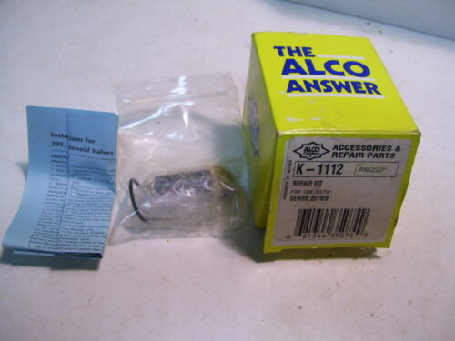 NIB EMERSON   -ALCO-  K 1112 SOLENOID REBUIDING KIT FOR 201WA VALVES P3900