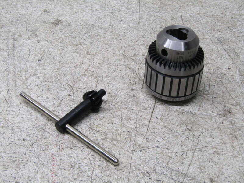 """Jacobs JT5 Tapered Mount Drill Chuck 3/8 To 1"""" Capacity 0030239"""